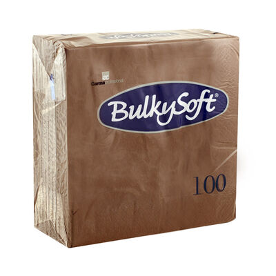 BulkySoft® tovagliolo rainbow 2v 33x33 marrone
